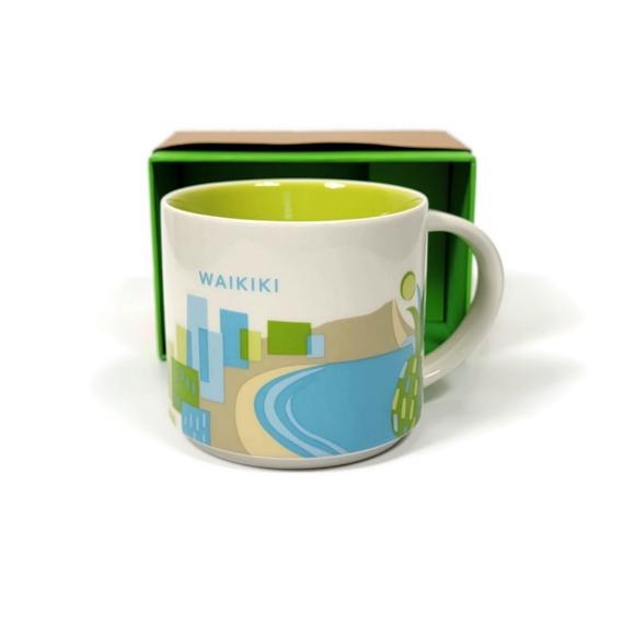 Starbucks You Are Here Collection Waikiki Mug